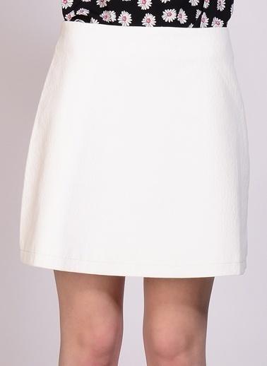 Glamorous Mini Etek Beyaz